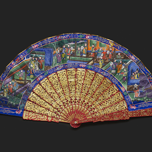 Mandarin Oriental Fans - A Collection of Chinese Export Qing Dynasty Fans