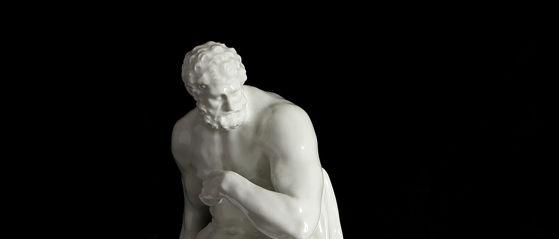 Open configuration optionsA Berlin Porcelain group of Hercules