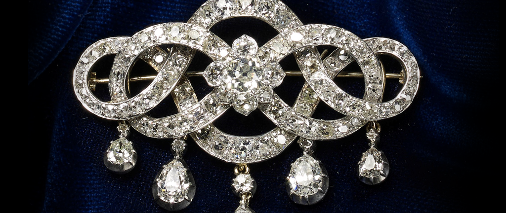 Antique Diamond Brooch (37270)