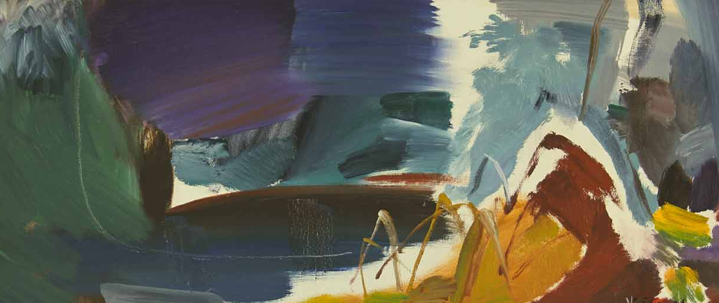 IVON HITCHENS CBE 1893-1979 - Storm Cloud over a River (38348)