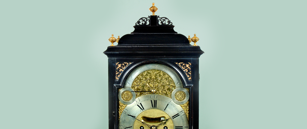"""Georgian Bracket Clock By William Scafe, London (3596)"""