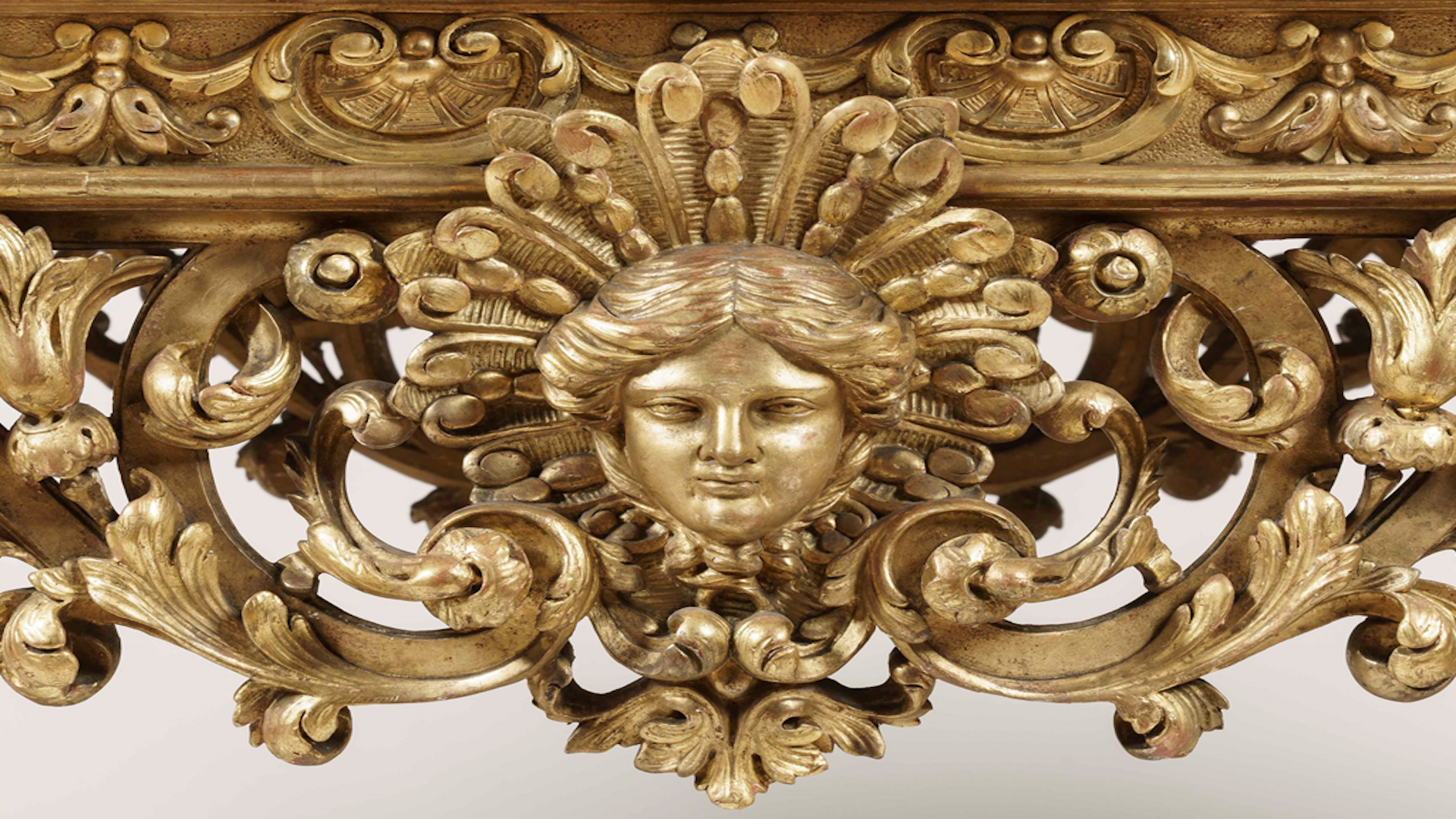 An Exceptional Giltwood Table de Milieu in the Louis XIV Style (32434)