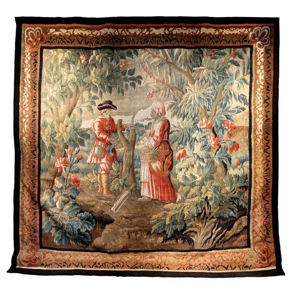 18th Century Aubusson wall hanging