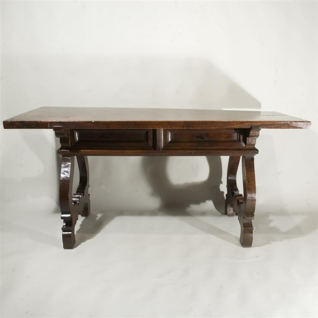 A 17th Century Spanish Walnut Table