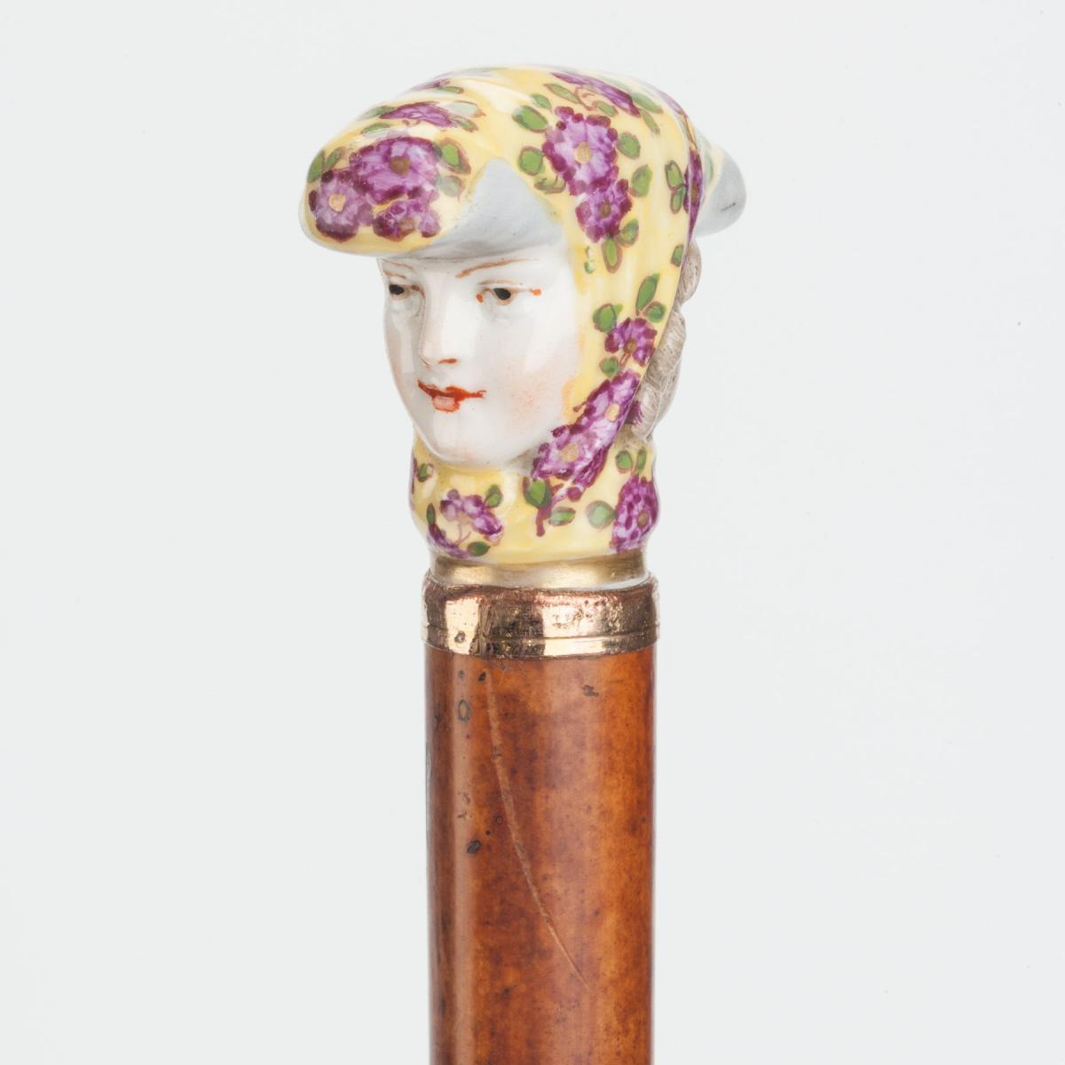 Lady's Head Cane