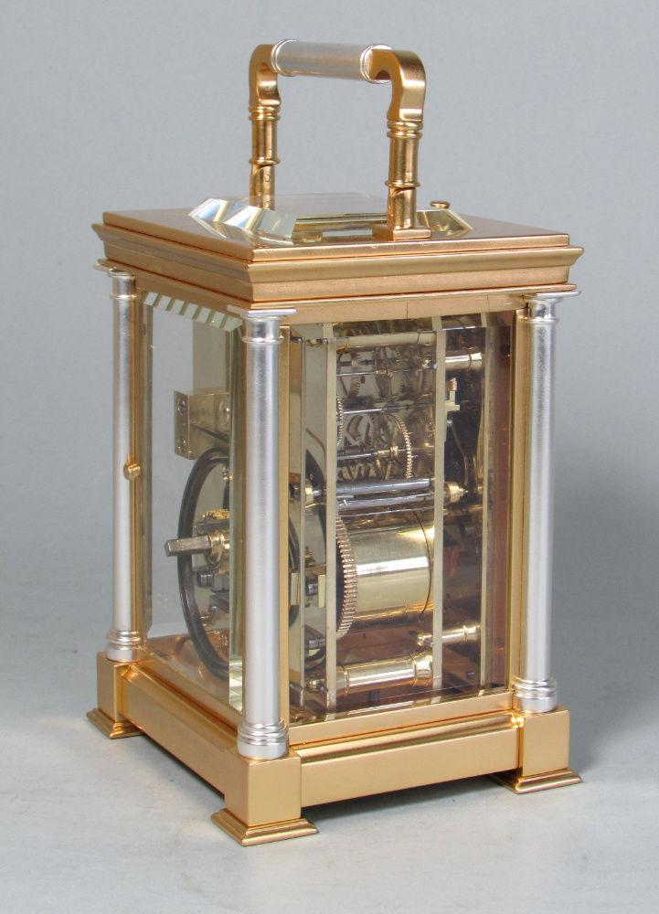 Delépine-Barrois striking carriage clock side 2