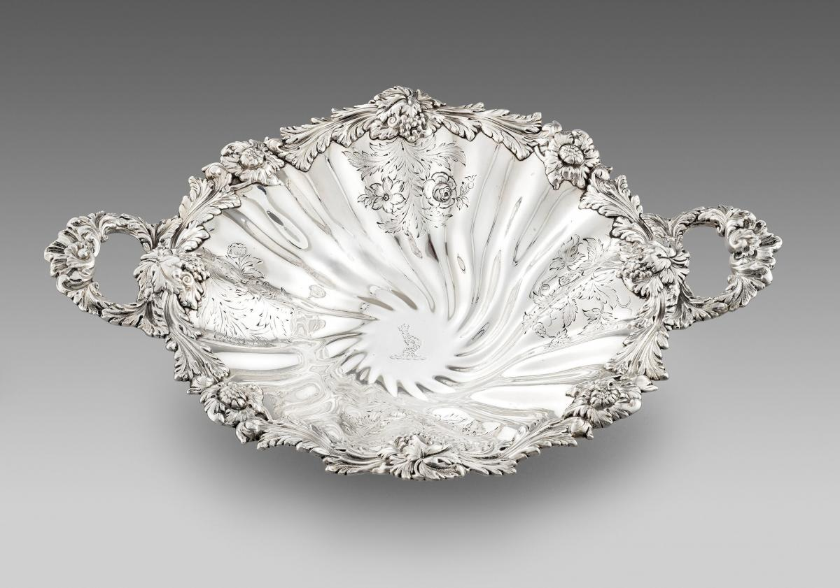 Antique Sterling Silver Dish made in 1833