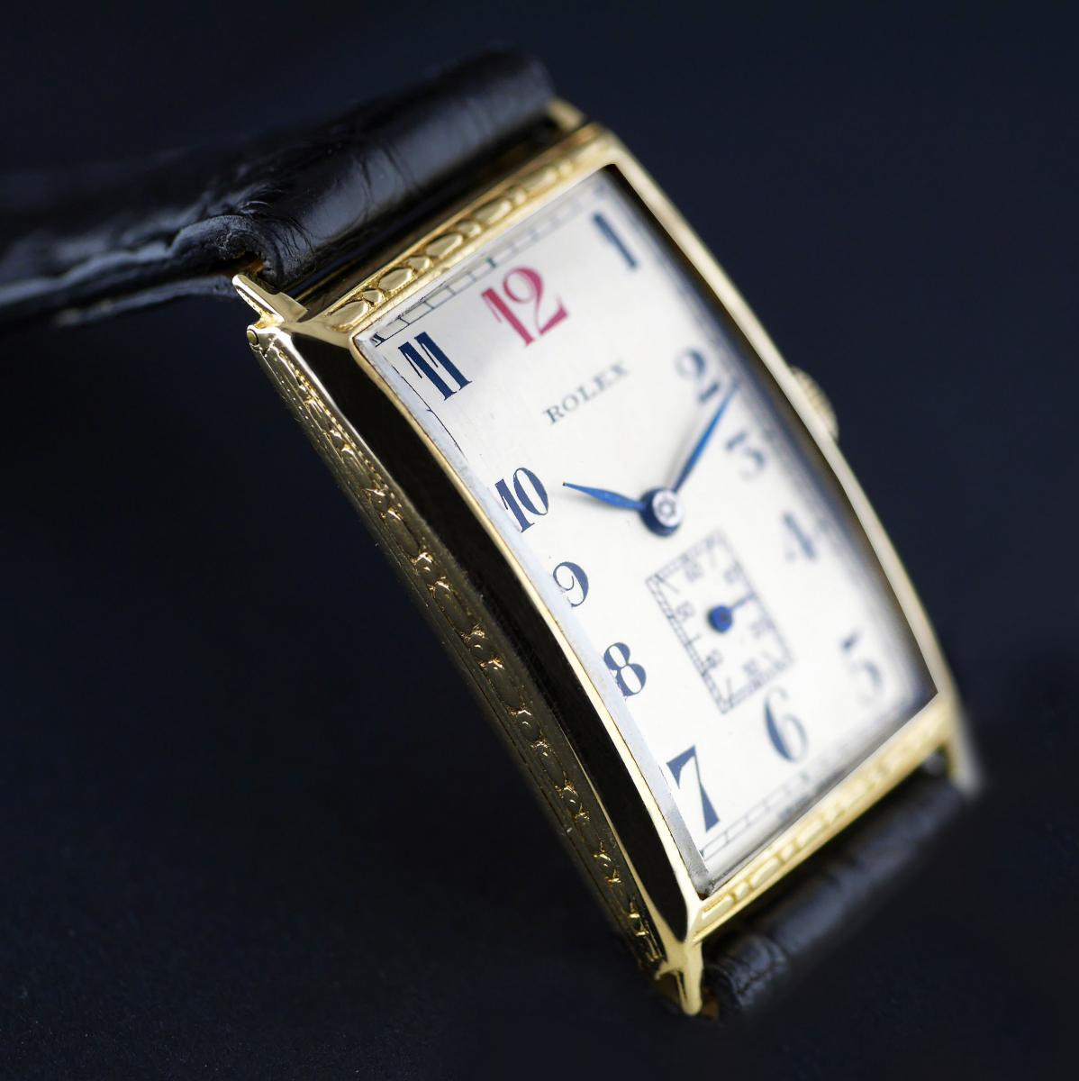 18ct Rolex Art Deco Wristwatch 1927