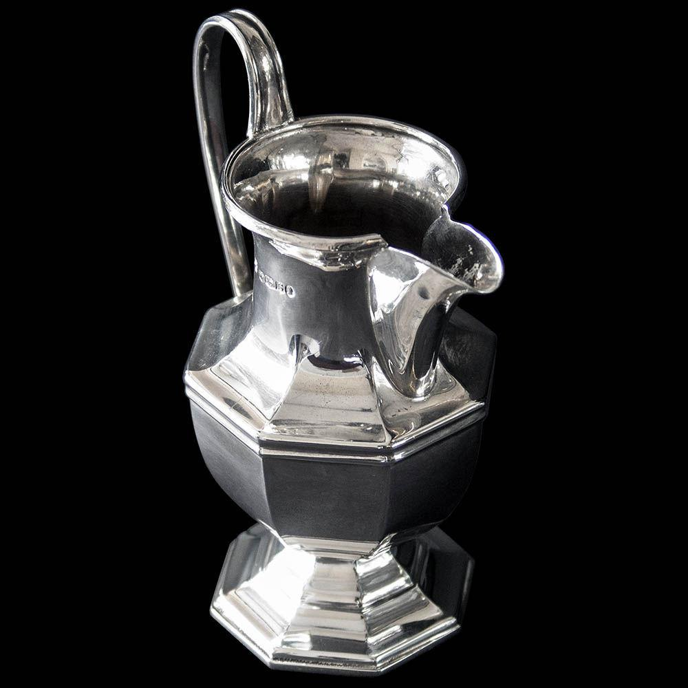 English Sterling Silver Cream Jug