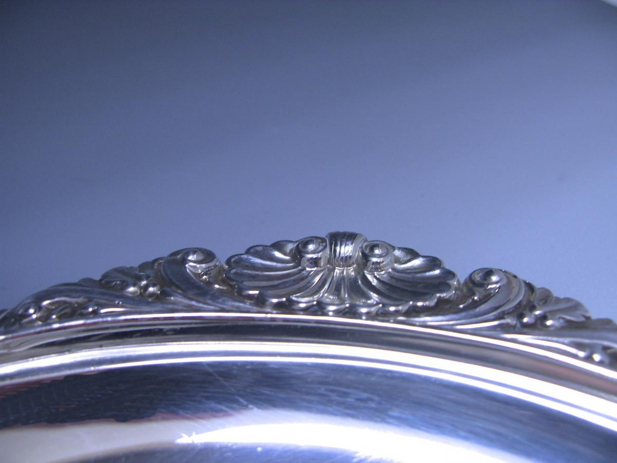 Antique George V Silver Tray