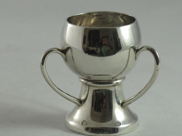 Arts and Crafts silver Miniature Tyg