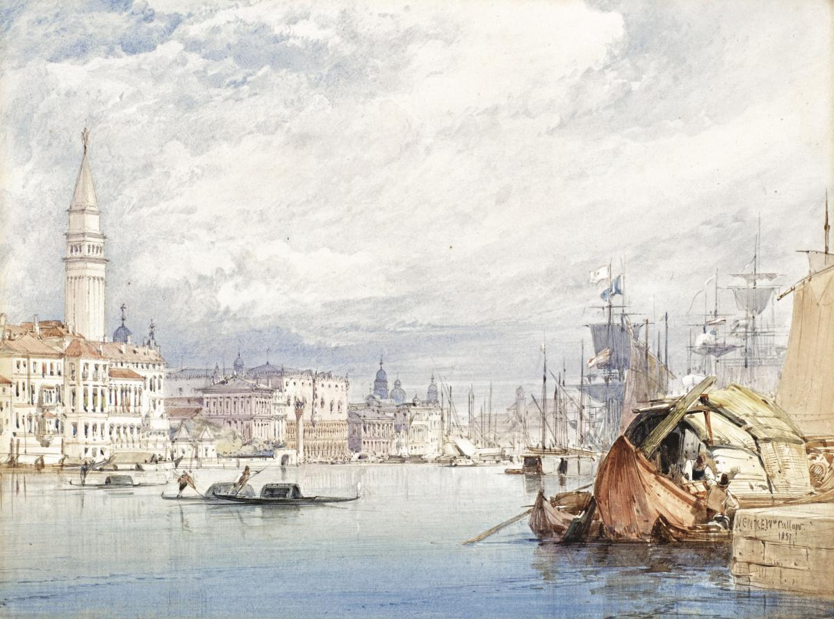 Venice from the Dogana, William Callow, R.W.S. (1812-1908)