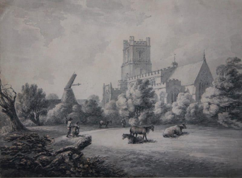 St Mary's Church, Great Dunmow, Essex, Thomas Hearne (1744-1817)