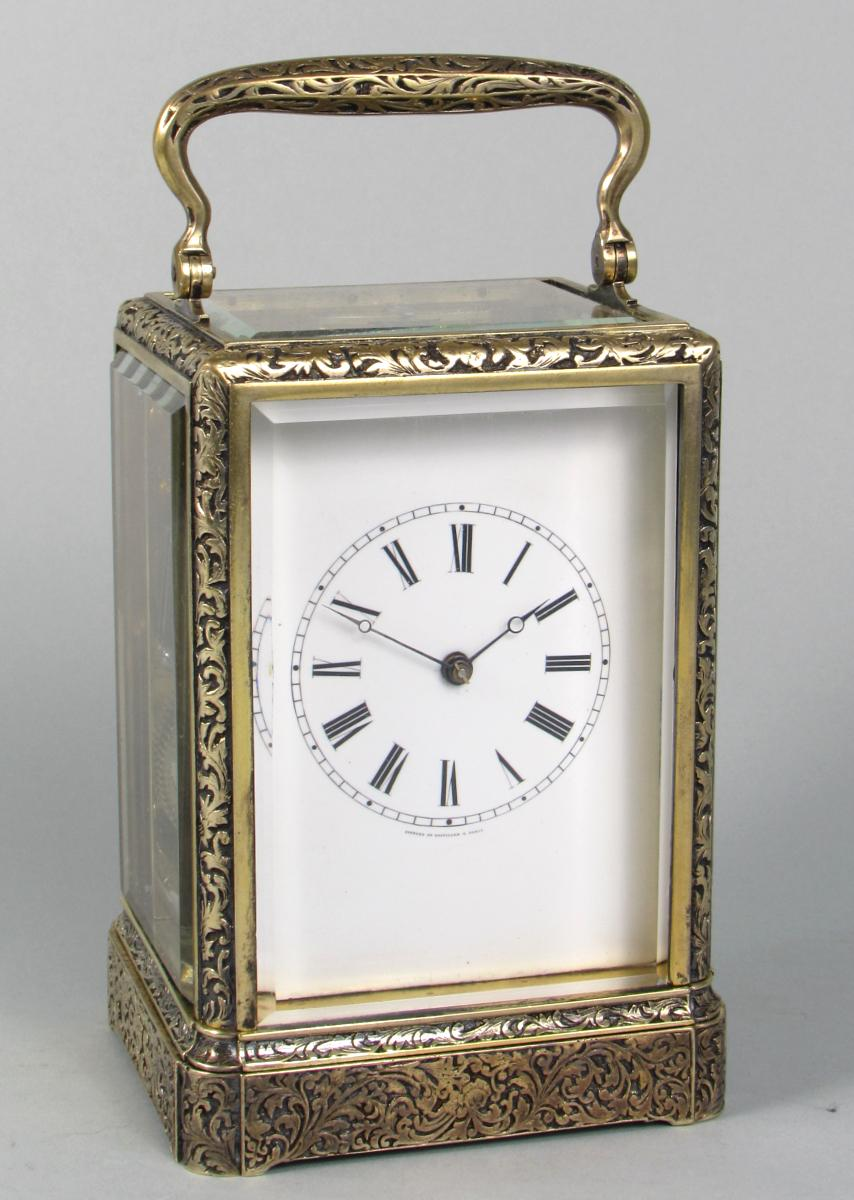 Gontard & Bolviller carriage clock
