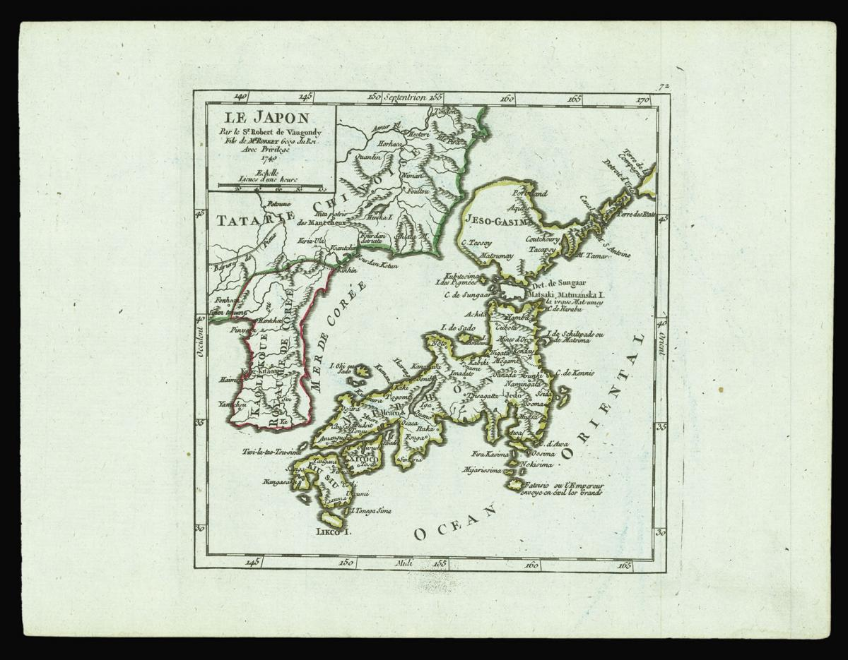 """Attempt to redefine the lands north of Japan"""
