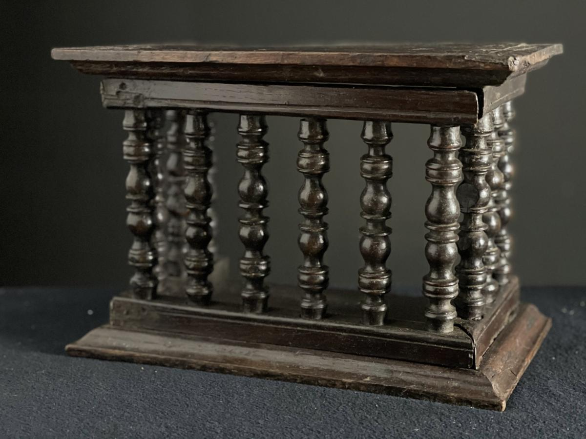Livery cupboard, mid 17th century
