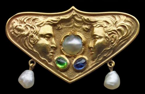 Secessionist Brooch from the Tadema Gallery