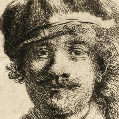 Young Rembrandt at the Ashmolean Museum