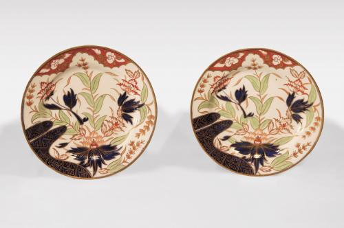 A set of early 19th Century Coalport Plates