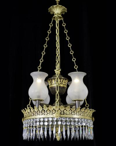 An Important Regency Period Dish-Light, English Circa 1815