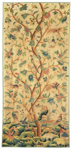 Crewelwork Panel, English, early 18th Century