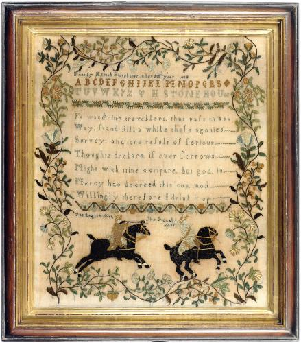Sampler by Hannah Stonehouse