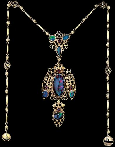 John Bonnor Opal Necklace