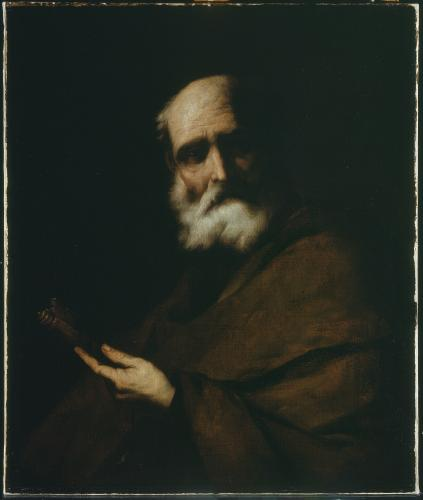 Attributed to Juan Carreño de Miranda (1614-1685). Saint Peter