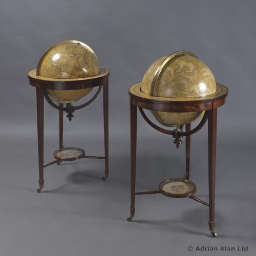 Library Globes, by Smith & Son ©AdrianAlanLtd