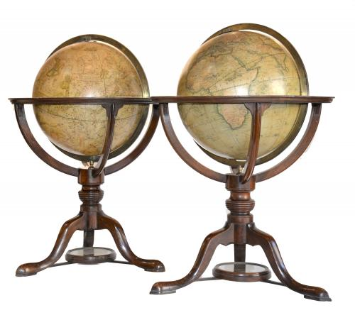 Cary's New Terrestrial & Celestial Globes