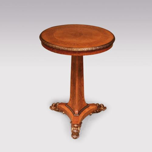 Early 19th Century Regency Small Maple Centre Table