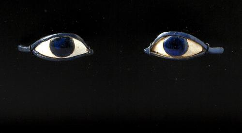 ANCIENT EGYPTIAN GLASS EYES