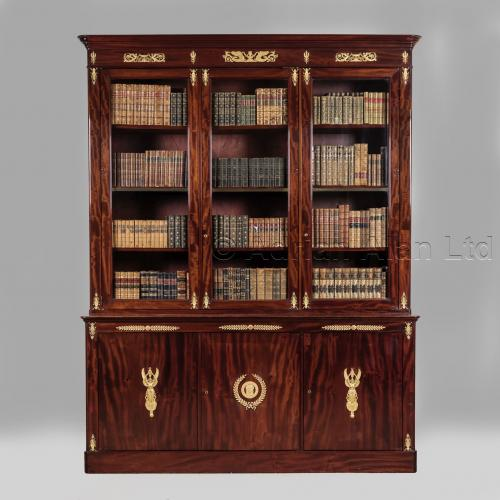 Empire Bookcase ©AdrianAlanLtd