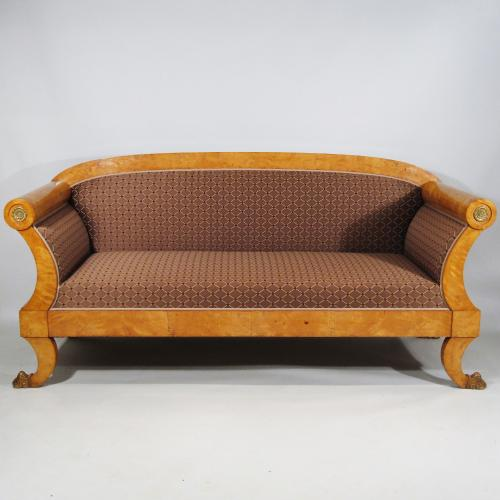 Early 19th Century Biedermier Sofa