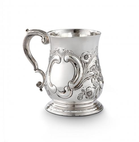George II Antique Sterling Silver Tankard