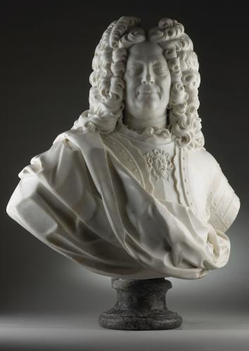 Bust of a Nobleman in Armour Giovacchino Fortini (1670-1736)