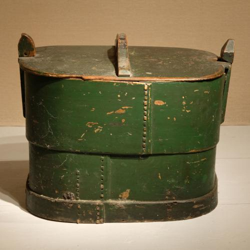 Early 19th Century Swedish Bentwood Box