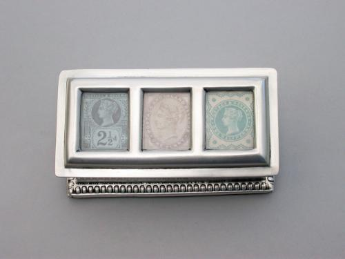 3 Compartment Stamp Box