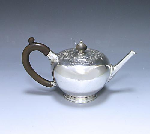 A George II Antique Silver Teapot