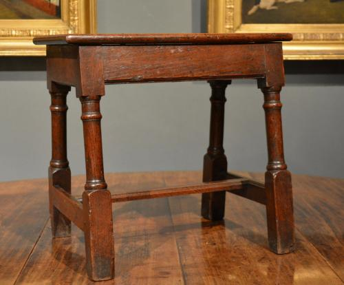 Mid 18th Century oak stool