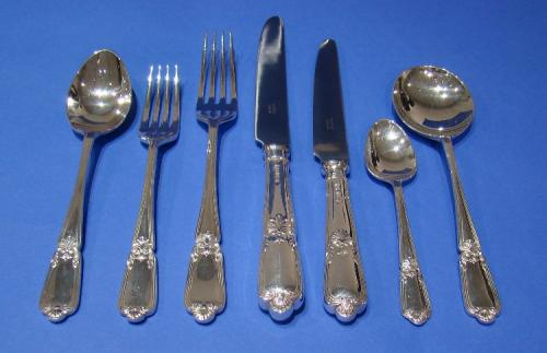 48-piece Sterling Silver, 6-place Table Setting, Cutlery Set
