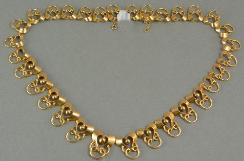 18ct Gold French Necklace