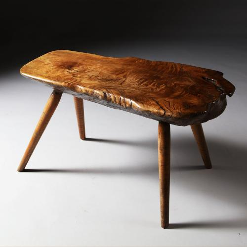 An Early 20th Century Elm Bench