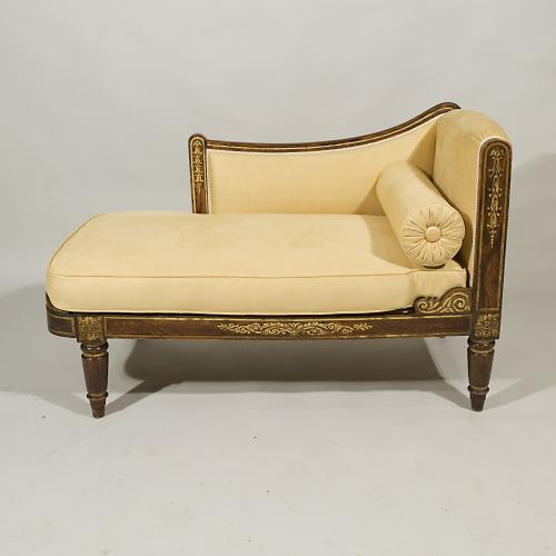 A Regency Period Penwork Child's Daybed