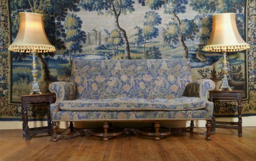 A 19th Century Queen Anne Style Settee