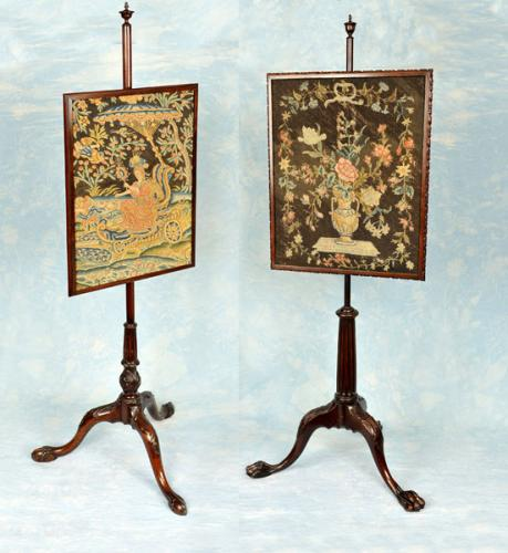 18th Century Pole Screens