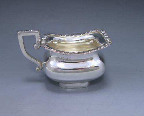 Antique Silver Cream Jug