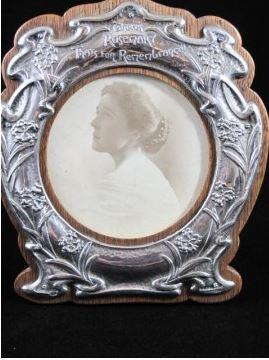 Arts & Crafts Silver Picture Frame