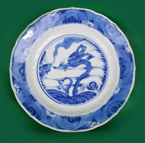 Blue and White porcelain - Kangxi c.1720
