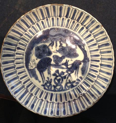 Blue and White porcelain - Wanli period 1573-1620